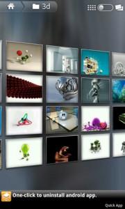 Flikie Wallpapers 3D Gallery Tilt
