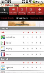 Goal Mobile Group Stage