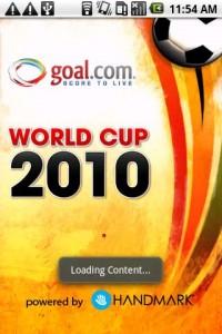 Goal Mobile Splash Screen