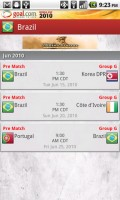 Goal Mobile Team Fixtures
