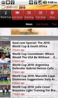 Goal Mobile World Cup News