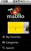Mabilo Wallpapers Start Screen