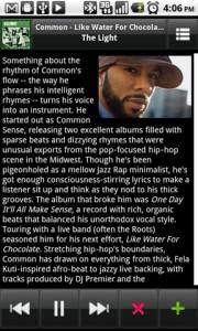Mixzing Music Player Artist Bio
