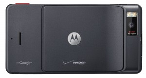 Motorola DROID X Back View