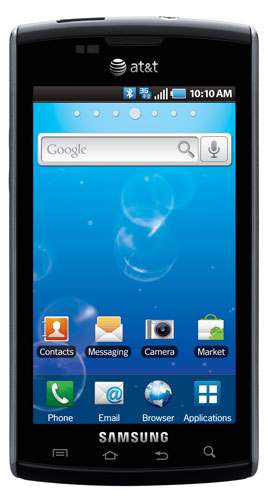 Samsung Captivate Android Smart Phone for AT&T