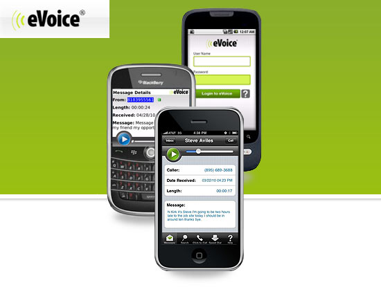 Share Business and Personal Line Using eVoice Android App