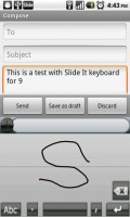 SlideIT Keyboard Graffiti