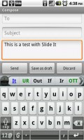 SlideIT Keyboard Writing 1