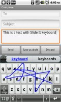 SlideIT Keyboard Writing 2