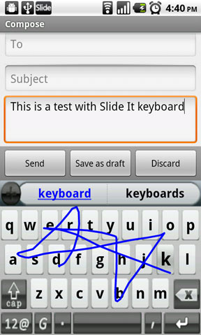 SlideIT Keyboard