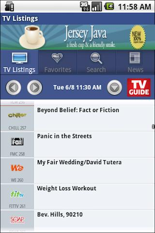 TVGuide.com Released It's Official Android App