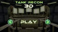 Tank Recon 3D Start Screen
