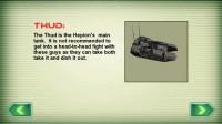 Tank Recon 3D Tank Info Details