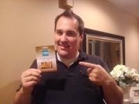 Tony Hickham - AMEX Gift Card Winner