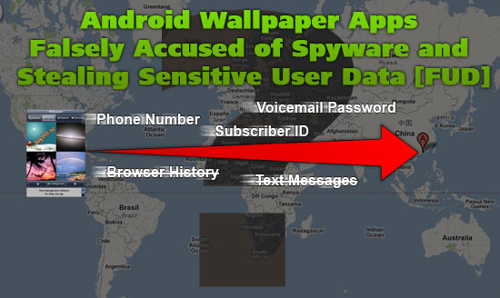 Android Wallpaper Apps Falsely Accused of Spyware and Stealing Sensitive User Data [FUD]