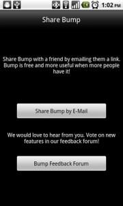 Bump Share the App