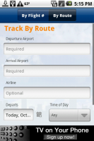 FlightView Track by Route
