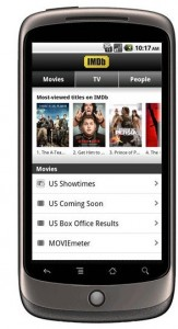 IMDb Android App Offers Largest Collection of Movie and TV Info