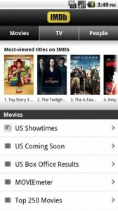 IMDb Movies and TV 1