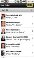 IMDb Movies and TV People Born Today