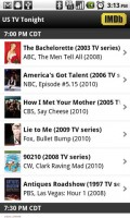 IMDb Movies and TV US Tonight