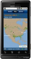 FlightView for Android In Air Map