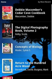 Kindle for Android Most Recent Books