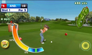 Lets Golf Hit Meter