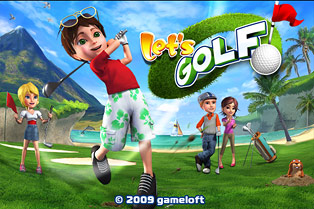 Gameloft Redeemth. Offering Let's Golf HD Free to HTC Evo and Nexus One Phones