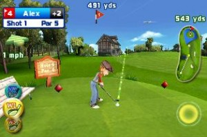 Lets Golf for Android in Game Play 1