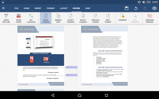 OfficeSuite Pro for Android – Open, Edit and Save Microsoft Office Documents