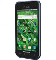 Samsung Vibrant a Galaxy S Phone for T-Mobile - Angle View