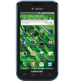 Samsung Vibrant Android Smartphone Available for T-Mobile