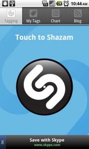 Shazam Touch to Shazam