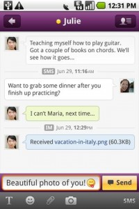 Yahoo Messenger for Android 2