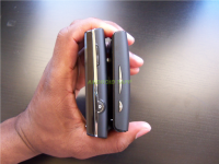 Sony Ericsson Xperia X10 Mini and Mini Pro Side Comparison