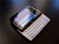 Sony Ericsson Xperia X10 Mini Pro with Keyboard Open