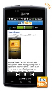 AndroidTapp.com Android App Review on BuzzVoice