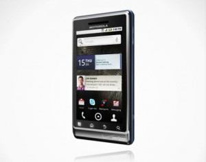 DROID 2 by Motorola Angle View 1