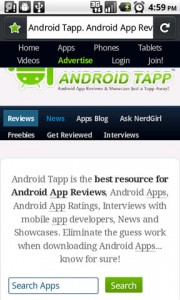 Fennec Firefox Mobile for Android Awesome Bar Searching Android App Reviews