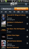 G4TV for Android Most Popular