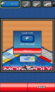 MONOPOLY Here and Now for Android Game Won