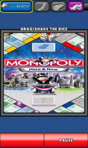 MONOPOLY Here and Now for Android in Game Play 3