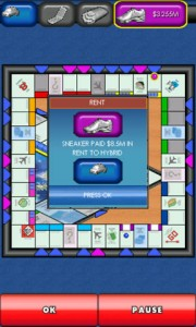 MONOPOLY Here and Now for Android in Game Play 4