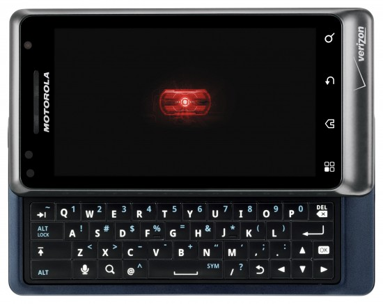 DROID 2 Launching with Android 2.2, Presale Starts August 11th on Verizon Wireless