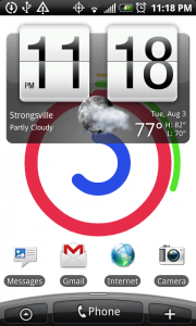 HTC EVO 4G Android 2.2 Update Notification