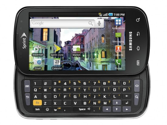 Sprint Samsung Epic 4G Available for Pre-Orders, Launches August 31st