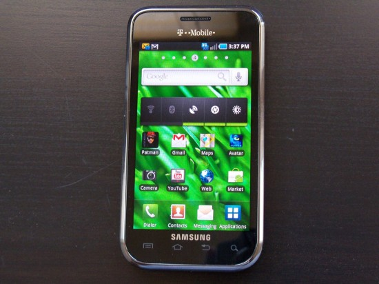 Hands-on Review of Samsung Vibrant for T-Mobile