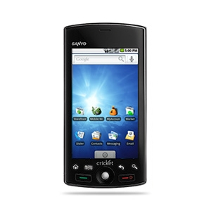 Cricket Launches First Android Smartphone Sanyo Zio by Kyocera