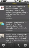 TweetDeck for Android Home